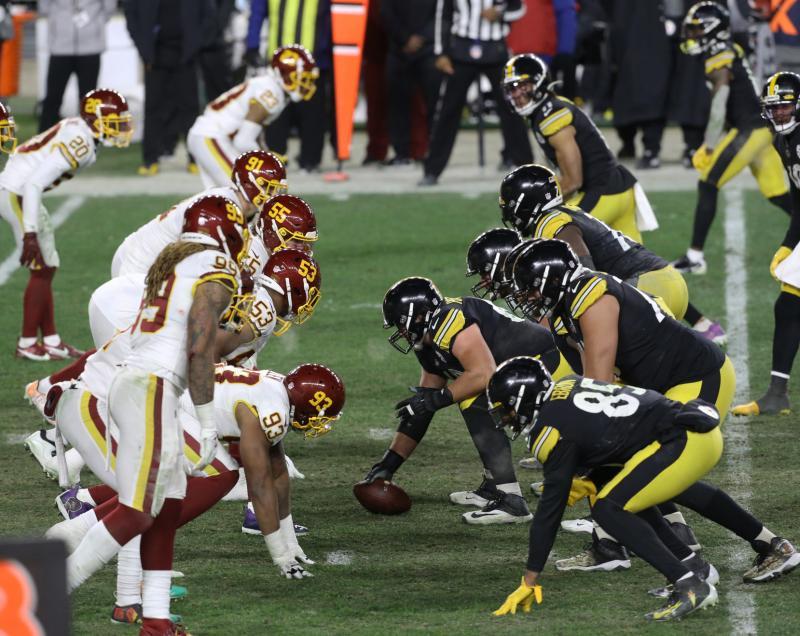 Pittsburgh Steelers offense vs. Washington Football Team defense