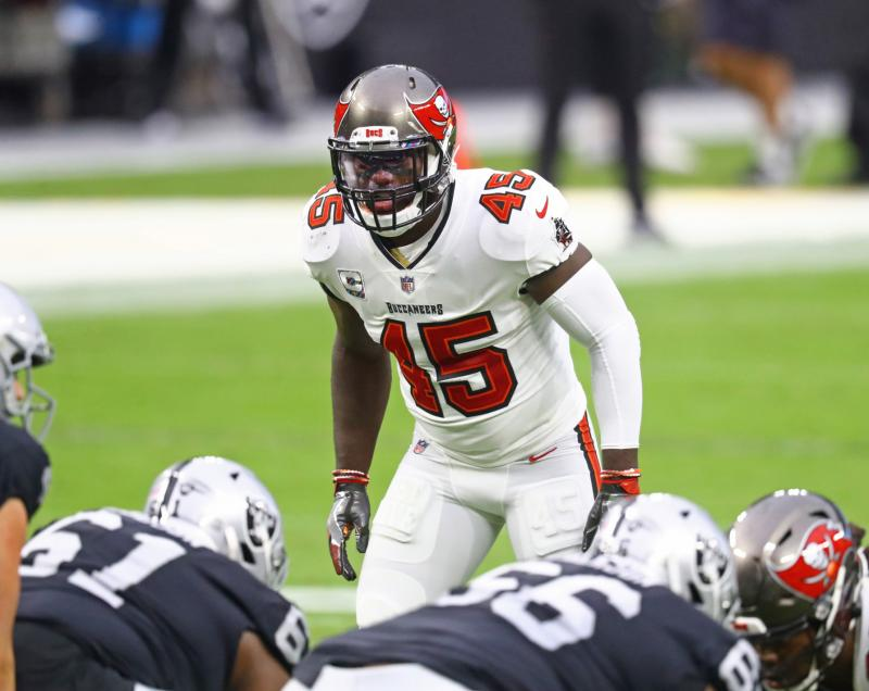Tampa Bay Buccaneers LB Devin White