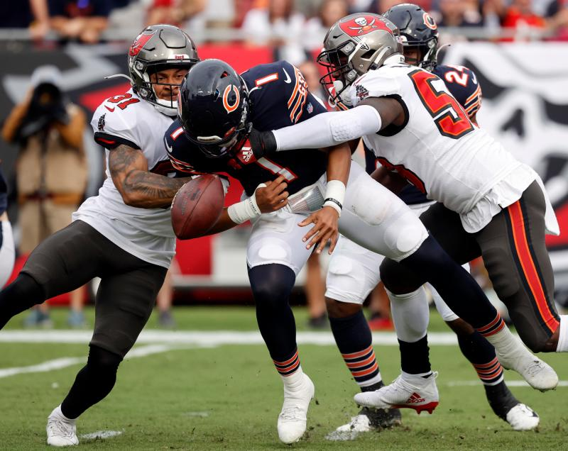 Chicago Bears QB Justin Fields