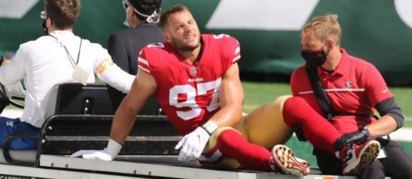 San Francisco 49ers ER Nick Bosa