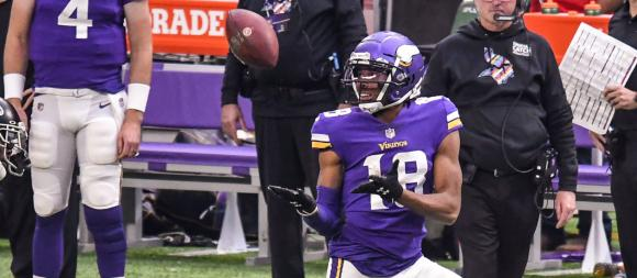Minnesota Vikings WR Justin Jefferson