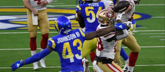 Los Angeles Rams S John Johnson