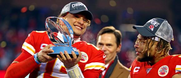 Mahomes Trophy