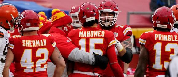 Kansas City Chiefs QB Patrick Mahomes