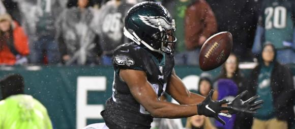 Philadelphia Eagles WR Greg Ward