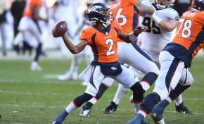 Denver Broncos WR/QB Kendall Hinton