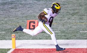 Michigan Wolverines WR Giles Jackson